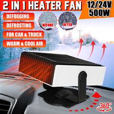 Carro Portátil antiembaçador 2 Em 1 Aquecedor Elétrico Ventilador de refrigeração Descongela 150W