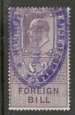KIng Edward VII - £2 - Lilac - Foreign Bill - Used - Good Condition
