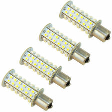 4x HQRP BA15s LED 66-SMD 1141 1156 Warm White Bulb Car Auto RV Camper Light Lamp