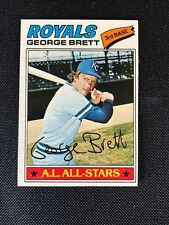 1977 Topps George Brett NM #580 Kansas City Royals *48