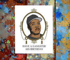 Dr. Dre The Chronic Gangster Happy Birthday Greeting Card