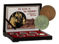 Blood of the Romanovs: Box of 6 of the Last Russian Coins Issued by the Romanovs