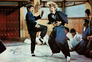 Bruce Lee - Fist of Fury (1972) - 24 x 36 - Signed Poster Reproduction