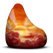 Sunset adult size bean bag