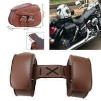 Motorcycle Saddle Side Bags For Honda Shadow Aero Phantom VLX VF VT 600 750 1100