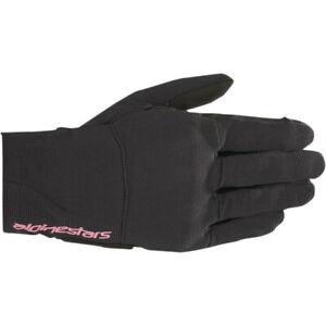 Alpinestars Women's Stella Reef Gloves (Black / Pink) Choose Size