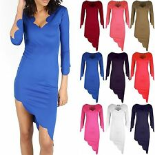 Unbranded 3/4 Sleeve Tunic Dresses for Women