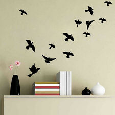 Vivid Birds Wall Decals Mural Stickers Removable Home Room Decor Vinyl Art DIY