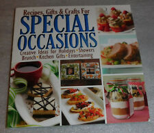Recipes Gifts Crafts Special Occasions 2013 PB Holidays Entertaining Showers