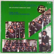 E. LARRY McDUFFIE: Come To Me / Satisfaction PRIVATE Black GOSPEL vinyl lp