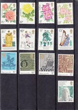 "ENGLAND, 1976, ""FULL YEAR COLLECTION"" 8 STAMP SETS ON PACK, MINT NH. FRESH"