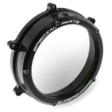 Ducabike Ducati Panigale Clear Clutch Cover CC119902 - Black-Black