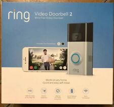 Ring Video Doorbell 2 Wire-Free Video Doorbell 1080 Hd Wi-Fi Connected Brand New