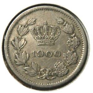 elf Romania Kingdom 5 Bani 1900    Crown