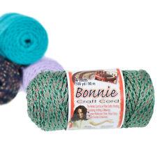 Craft County 4Mm Bonnie Cord - 100 Yards - Multiple Colors - Macramé Cord, Diy