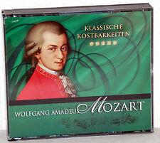 3 CD-Box - Klassische Kostbarkeiten - WOLFGANG AMADEUS MOZART