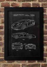 Lamborghini FineArt Print A4 Kunstdruck Galeriequalität handsigniert