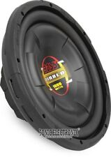 "BOSS 500W 12"" Diablo Series Shallow-Mount Single 4 ohm Subwoofer 