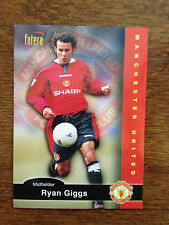1997 Futera Manchester United Soccer Card RYAN GIGGS Mint