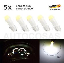 5x Bombilla T5 COB LED SMD T5 58 73 74 286  Dashboard Coche 3D Super Blanco 12V