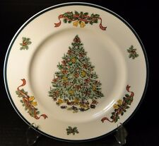 "Johnson Brothers Victorian Christmas England Dinner Plate 10 1/4"" 1992 MINT!"