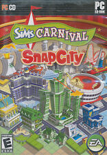 The Sims Carnival SNAP CITY SnapCity PC Game NEW in BOX