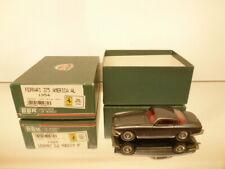 BBR MODELS BBR66A FERRARI 375 AMERICA AL 1954 DARK GREY 1:43 -  EXCELLENT IN BOX
