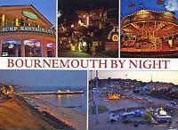 Alte Postkarte - Bournemouth by night