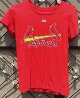 MLB Majestic 2011 Women's St Louis Cardinals Baseball Matt Holliday #7 T Shirt M