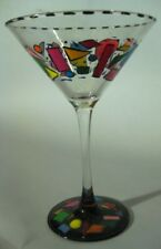 Hand Painted Abstract Martini