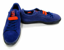 Puma Shoes Suede Classic + Navy Blue Sneakers Size 8.5 EUR 41