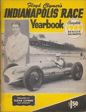 Floyd Clymer's Indianapolis 500 mile Race Yearbook 1949