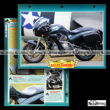 #007.12 Fiche Moto BUELL 1200 ST3 THUNDERBOLT Mod. 1997 Motorcycle Card