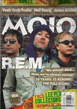 MOJO JULY 2003 R.E.M NEIL YOUNG JAMES BROWN LEE PERRY