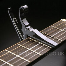KYSER QUICK CHANGE CAPO KG6B For 6 String Guitars