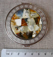 Genuine Rare Real Baltic Amber Mirror from Both Sides