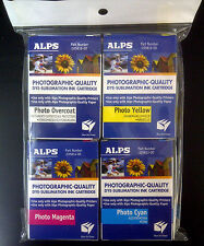 Alps MD Printer Ink Cartridge - Dye-Sub Photo 4 Pack PC, PM, PY, PO 106059-00