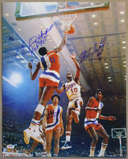 Hayes + Unseld + Archibald + Porter SIGNED 16x20 Photo +HOF PSA/DNA AUTOGRAPHED