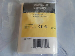 Triangular Bandage 90cm x 127cm - Quantity 20