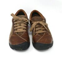 Keen Presidio Women's Brown Lace Up Oxford Toe Cap Hiking Shoes Size 7.5 1611401