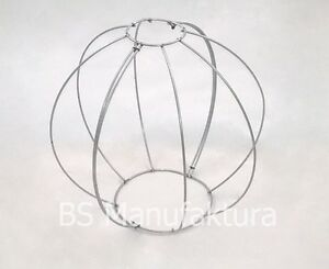 Topiary metal wire frame BALL GLOBE 40cm buxus boxwood balls pruning
