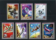 EQUATORIAL GUINEA SPACE RESEARCH OF VENUS  SET OF 7 STAMPS MNH