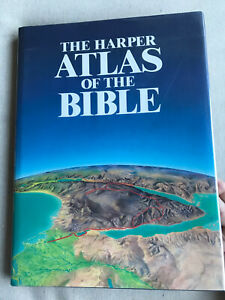 The Harper Atlas of the Bible by James Pritchard (Hardcover, 1st, New)