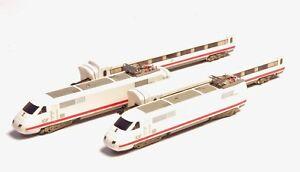 8871 Märklin Marklin Z-scale  ICE Railcar Train Set , lighted cars, two motors