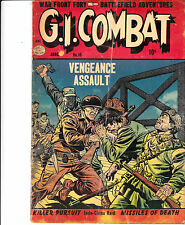 G.I. COMBAT #15 (Quality Comics, June 1954) G/G+ *** Hard to Find ***