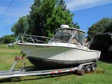 2001 Carolina Classic 25 Fishing Boat Yanmar Diesel Bravo 2 Sterndrive &trailer