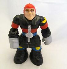 1999 Firefighter Mattel Fisher-Price Rescue Heroes Action Figure Figurine