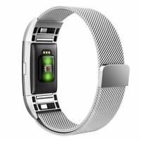 Band for Fitbit Charge 2, Simpeak Milanese Stainless Steel Replacement Straps