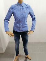 Camicia HOLLISTER Donna Taglia Size S Shirt Woman Chemise Femme Cotone P 7503
