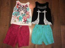 Size 4 Shorts Sleeveless Tanks Outfits Baby Gap Linen Lot Of 4 Girls Giraffe